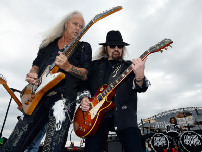 Gary Rossington and Rickey Medlocke