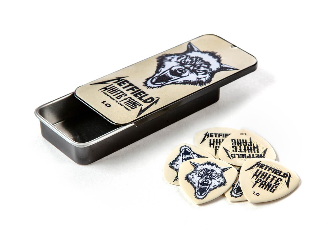 James Hetfield White Fang Pick Tin