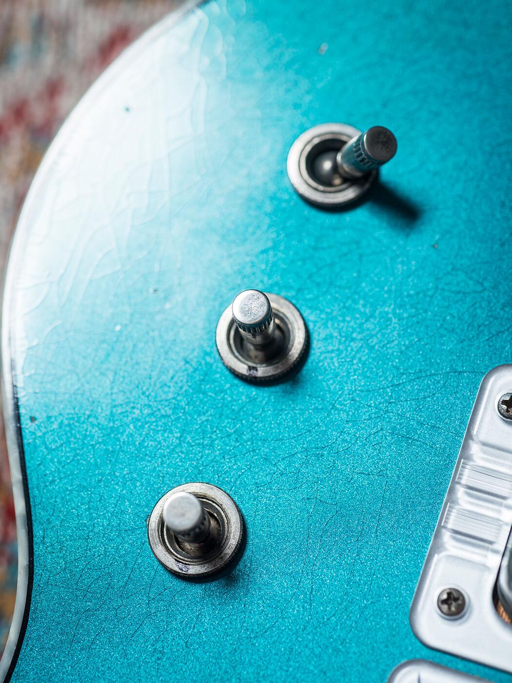 Scott Holiday's Gretsch Custom Shop Stephen Stern Masterbuilt Blue Penguin (Switch)