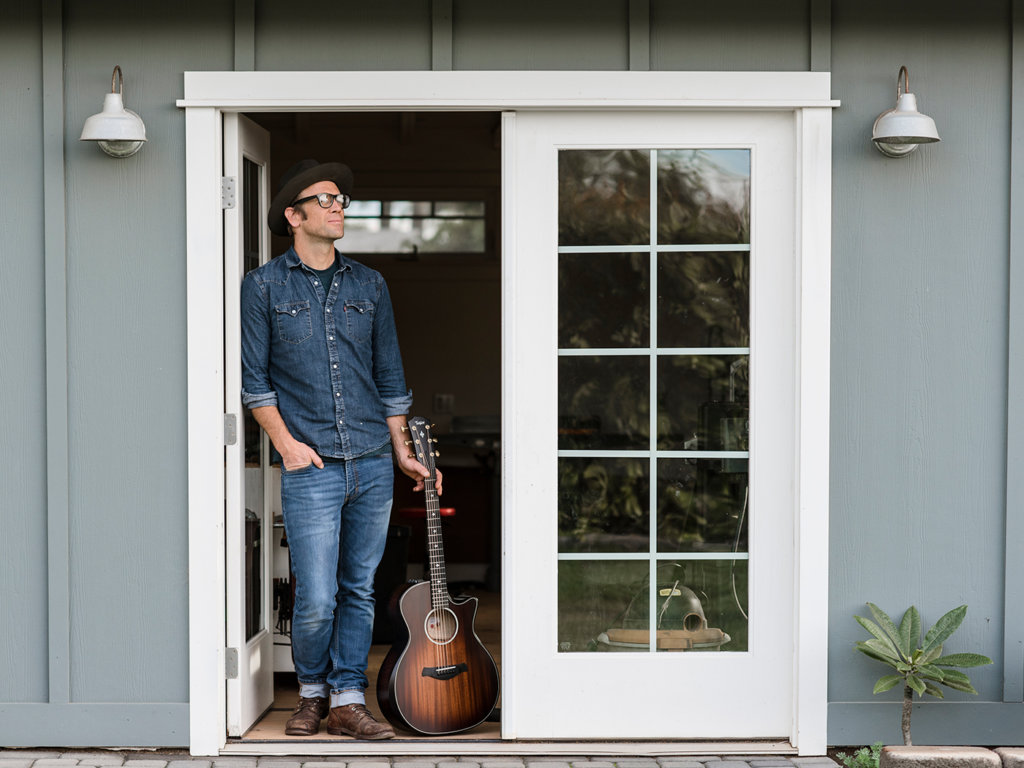 Taylor's Andy Powers at home