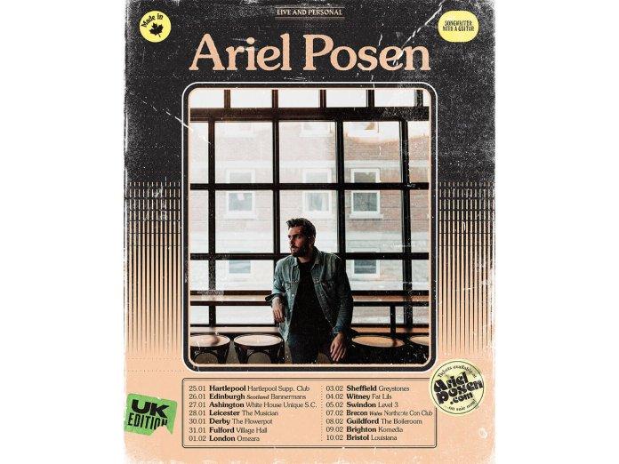 Ariel Posen's UK Tour