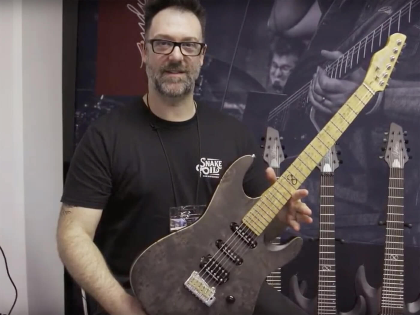 Rob Chapman of Chapman Guitars