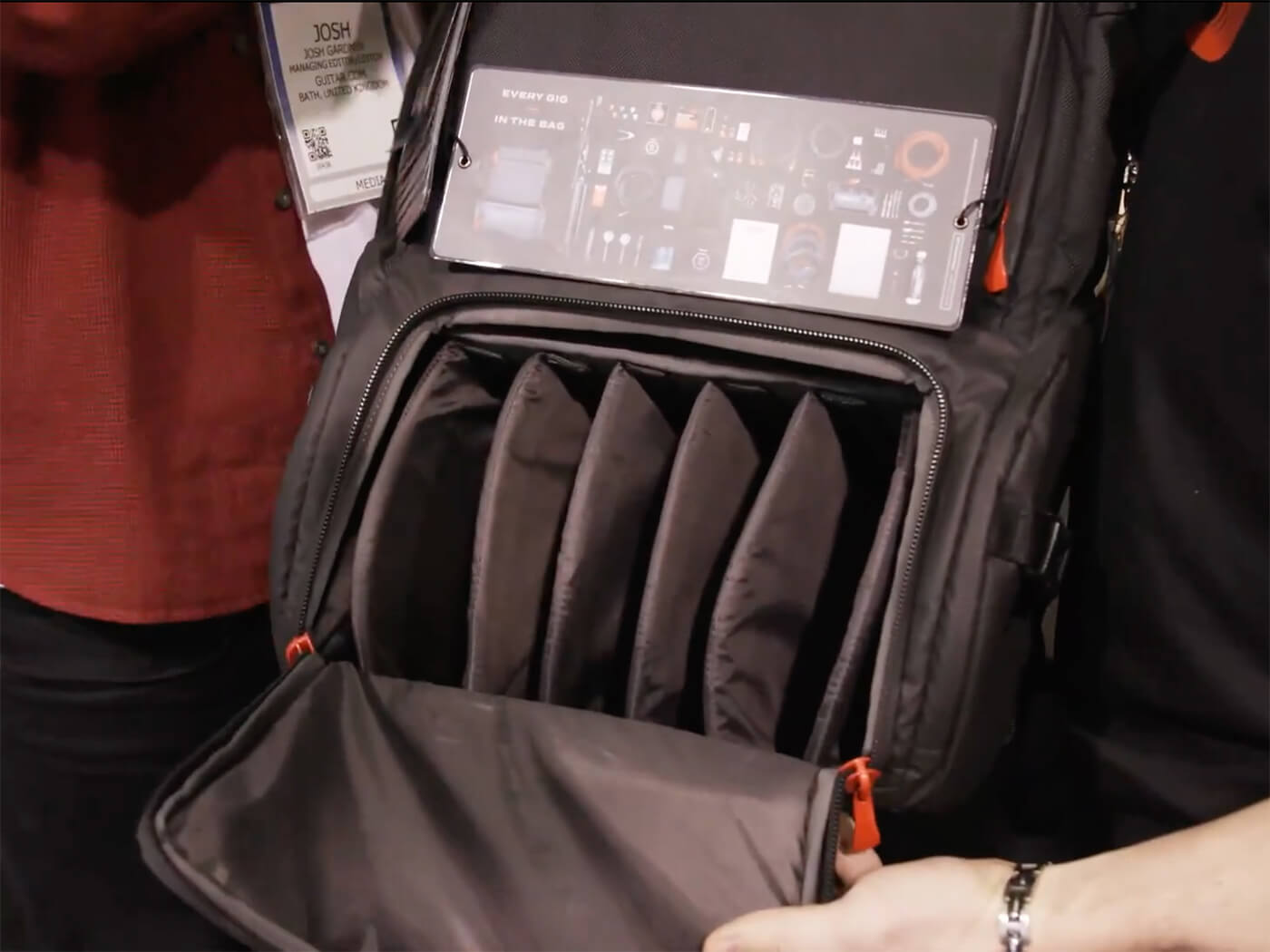 NAMM 2020 Video: D'Addario makes gigging easier with the Backline and LokNob