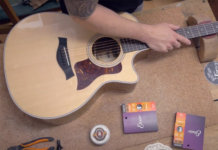 DIY how to restring an acoustic guitar