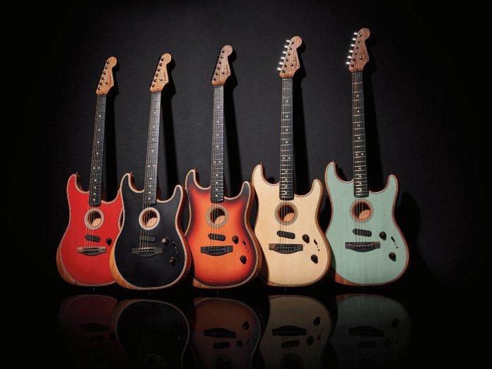 Fender Acoustasonic Stratocasters