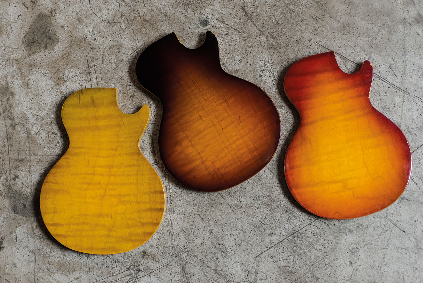 gibson made 2 measure finishes