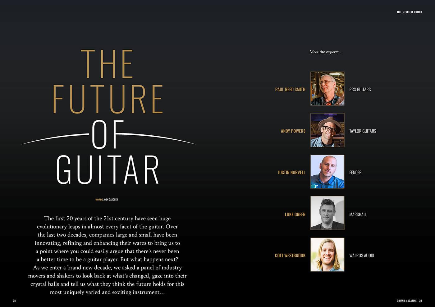 future of guitar magazine