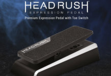 The HeadRush Expression Pedal
