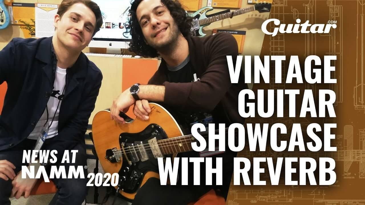 NAMM 2020: Reverb showcase weird and wonderful 60s guitars