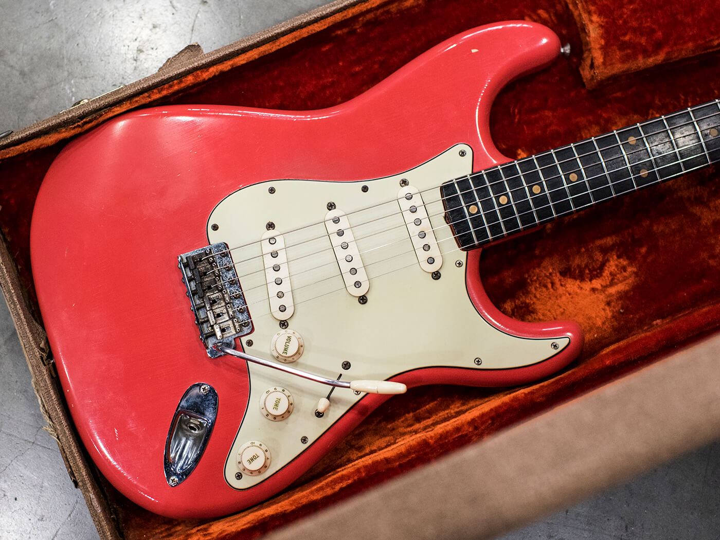 1962 Stratocaster in Fiesta Red