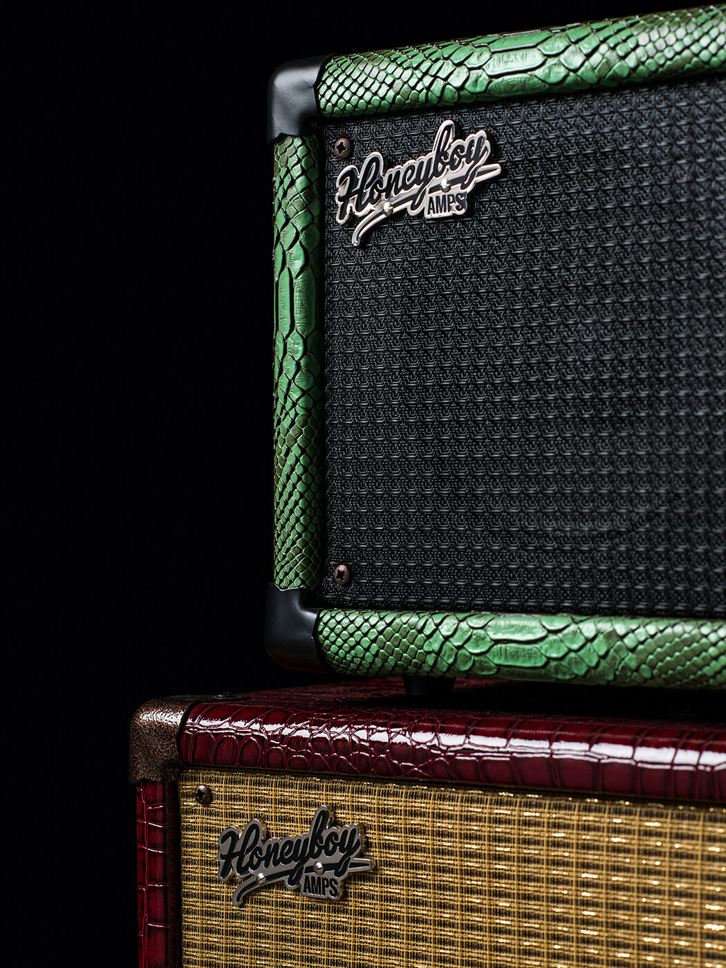 Honeboy Amps Mini Twin Speaker Cab (Stacked)