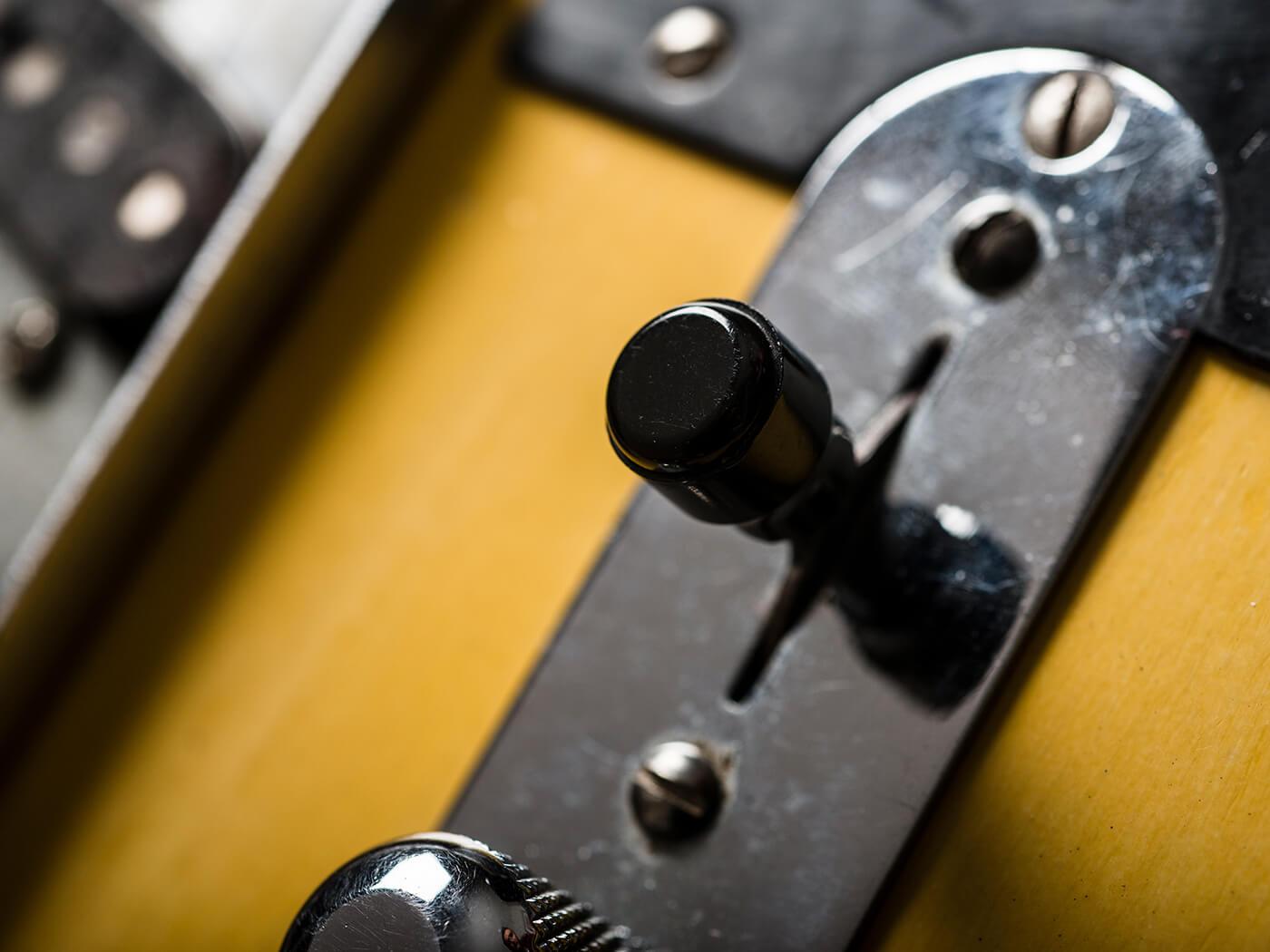 1952 Blackguard Telecaster Switch