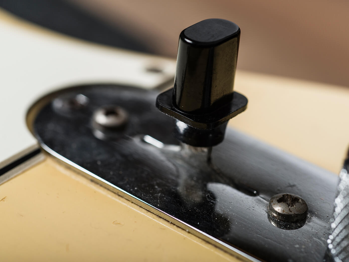 1968 Olympic White Telecaster Switch
