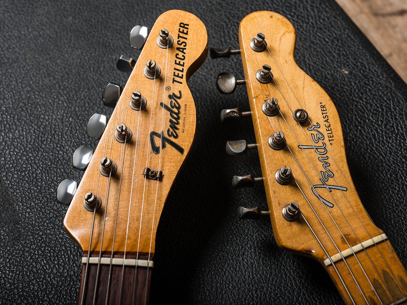Fender Telecaster Headstocks