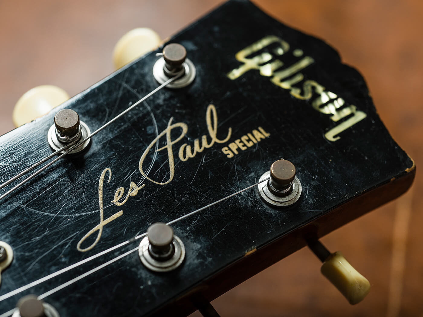 Les Paul Special 1959 Double Cutaway Headstock