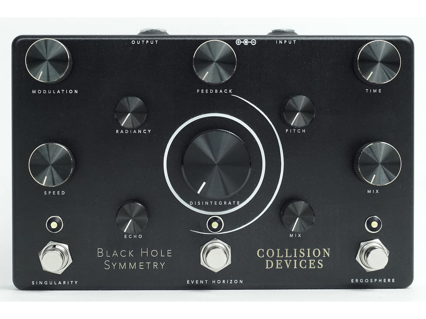 The Collision Devices Black Hole Symmetry