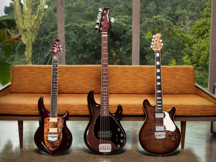Ernie Ball Music Man's Februaryy BFR Collection