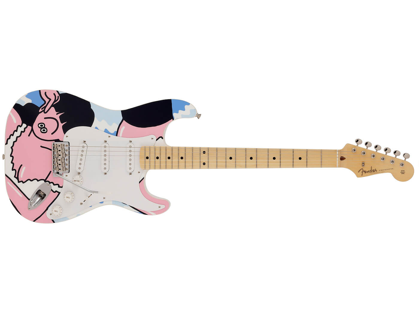 The FACE Art Gallery Stratocaster