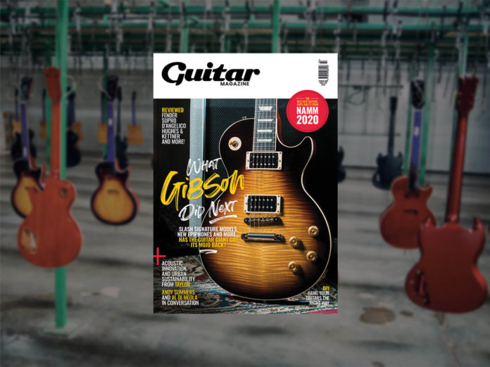 guitar magazine march issue 378