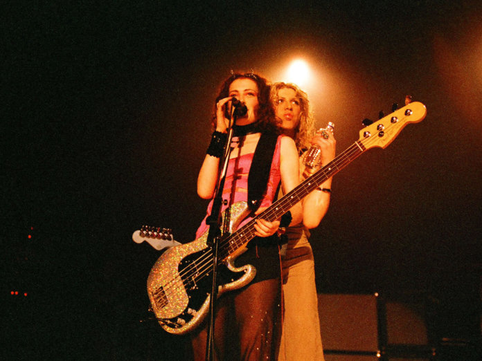 Hole performing live