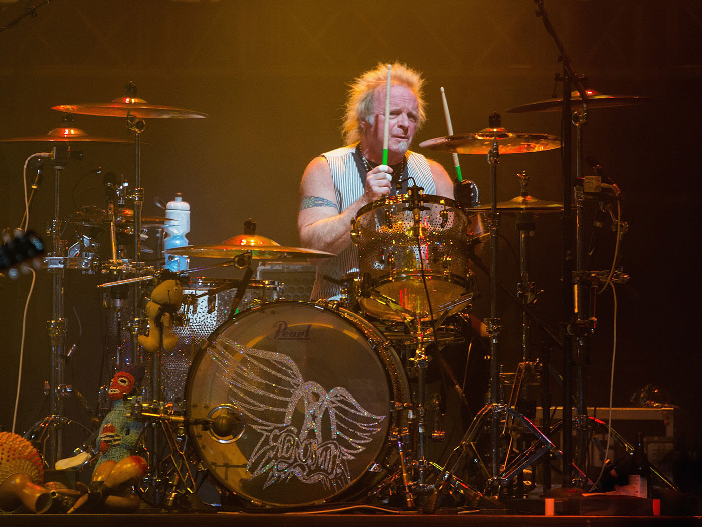 Joey Kramer is back in Aerosmith