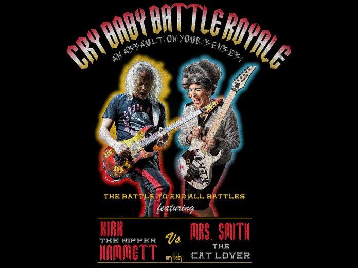 Kirk Hammett / Mrs Smith wah-Off
