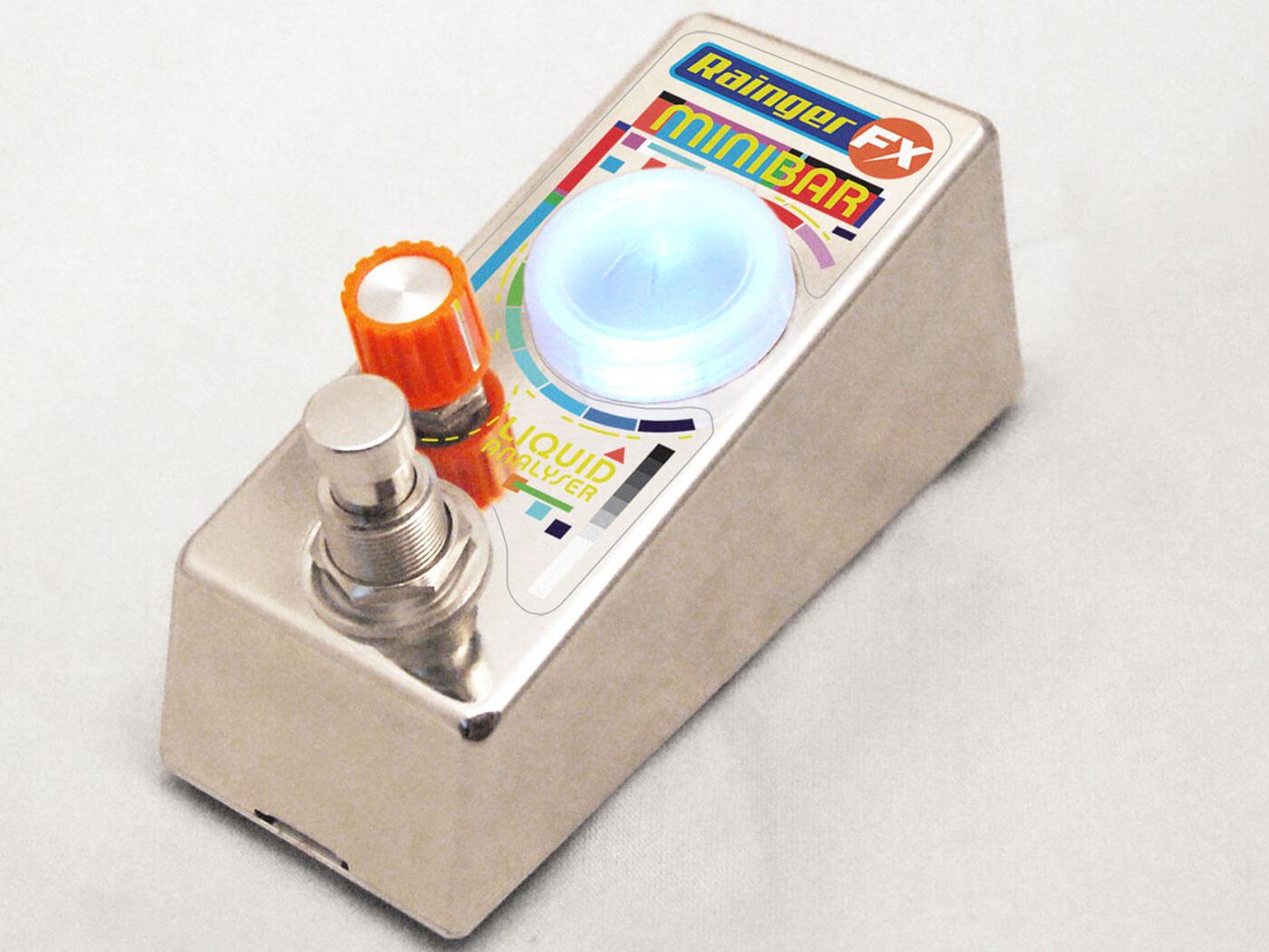 Rainger FX launches the Minibar – a pedal you pour liquid into