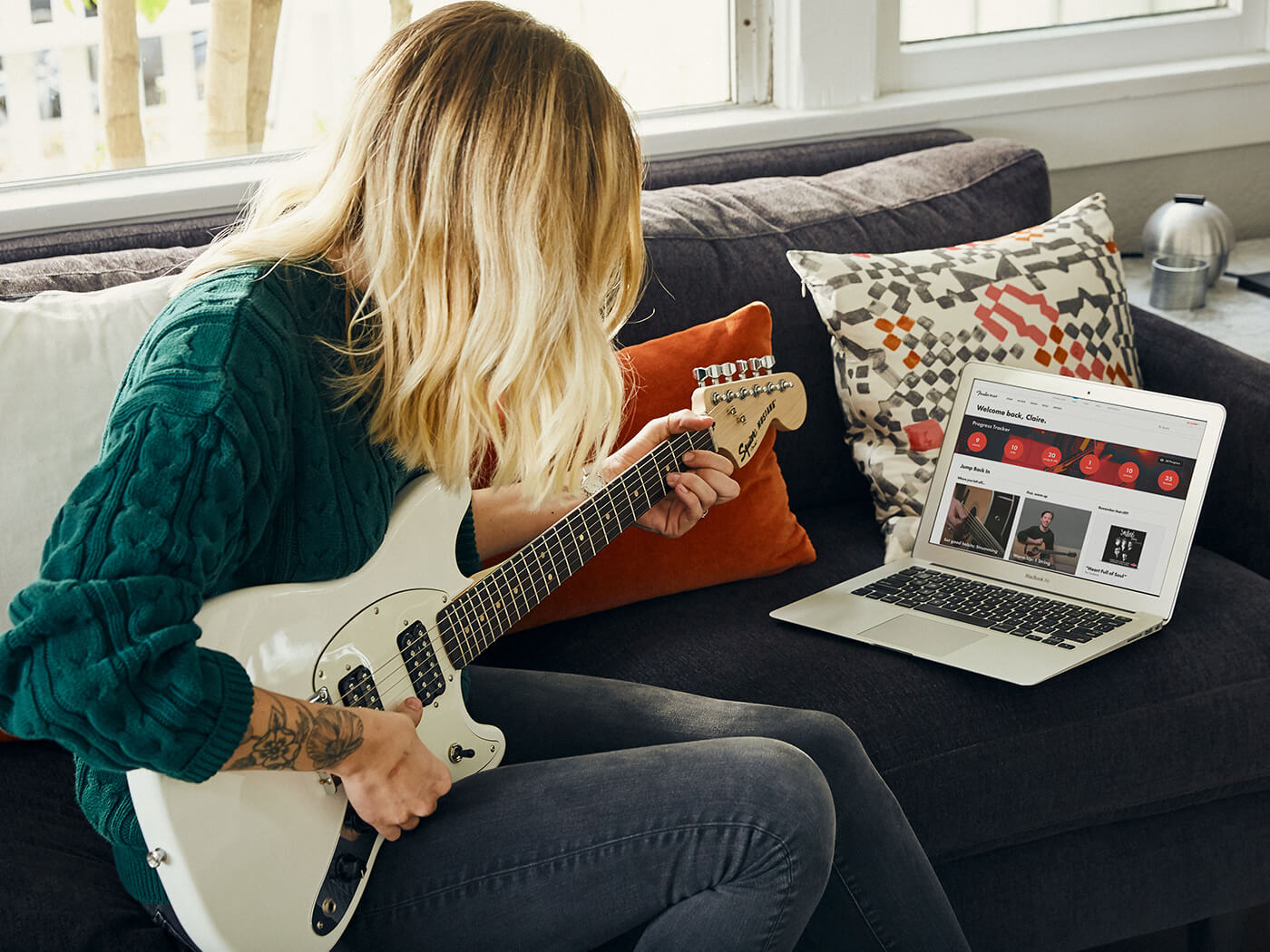 Fender Play Promotional Image