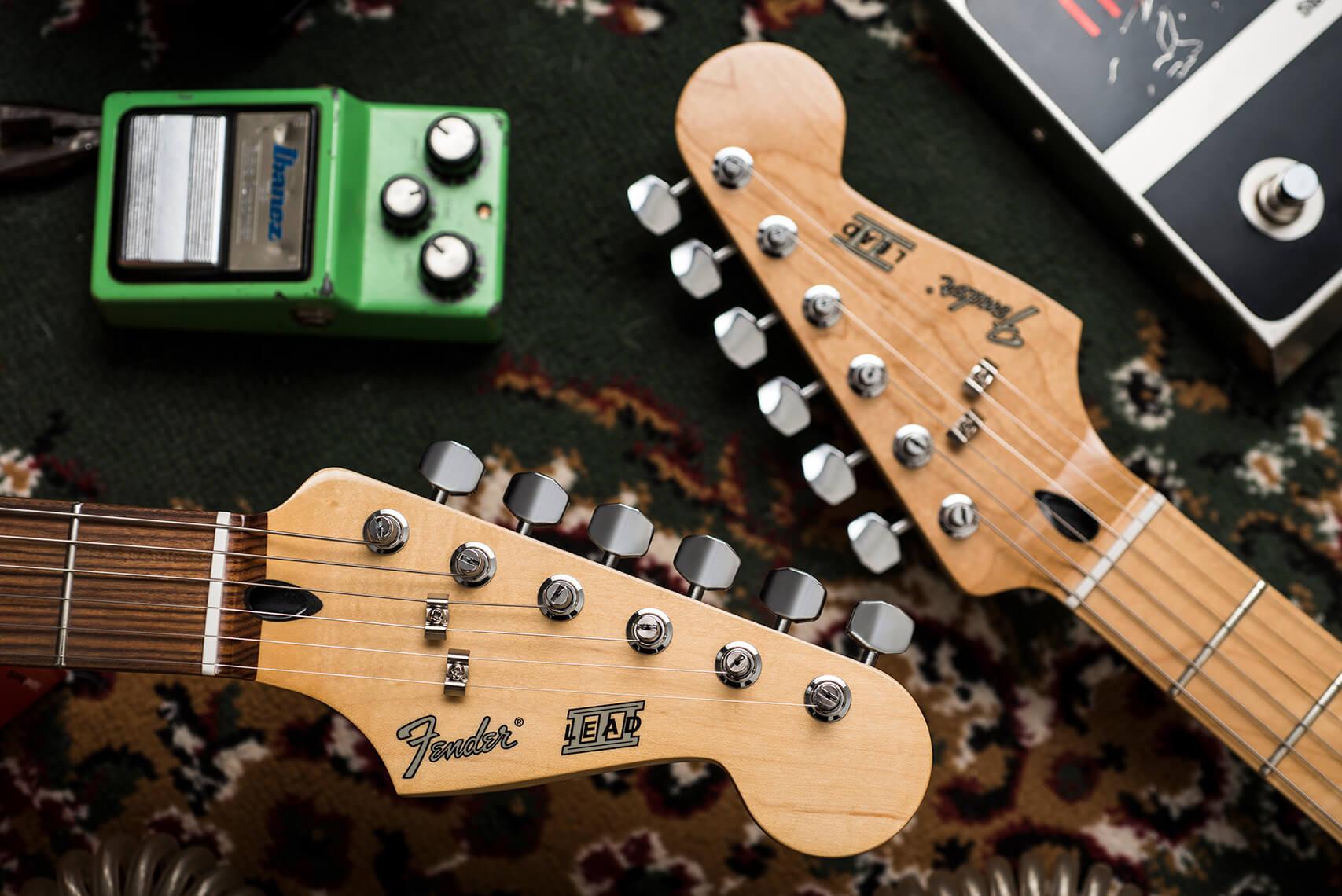 Fender Lead II & III (Headstock)