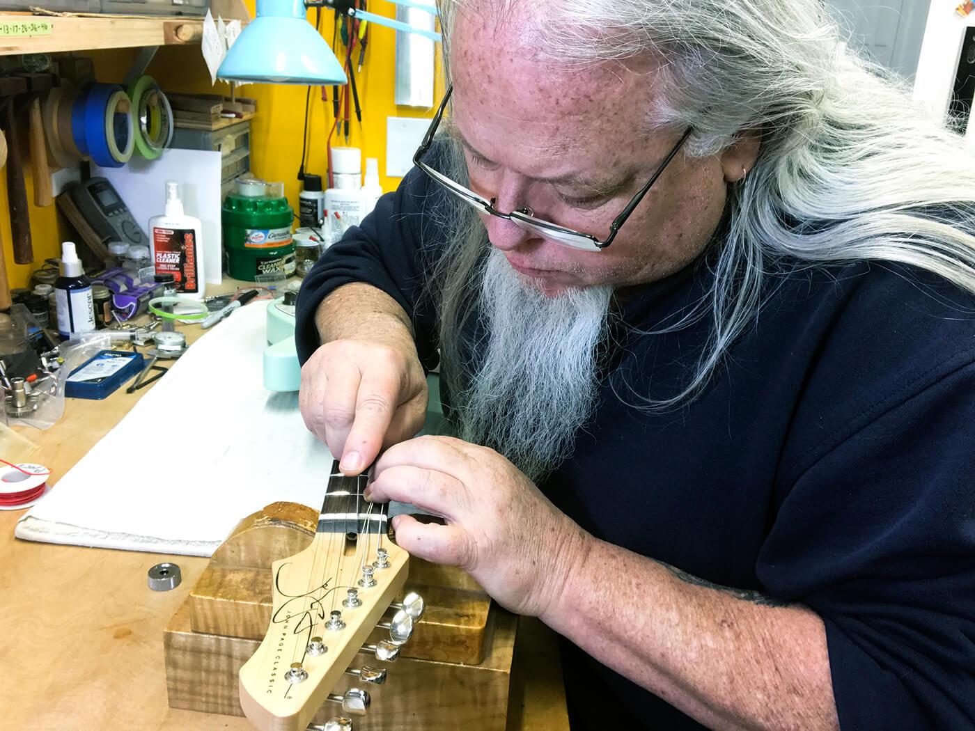 John Page Talking Shop Nut Filing