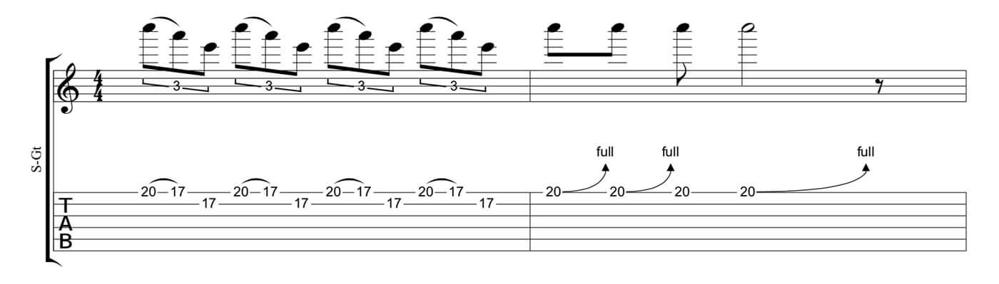 Play Blues Like Jimmy Page Lick 1