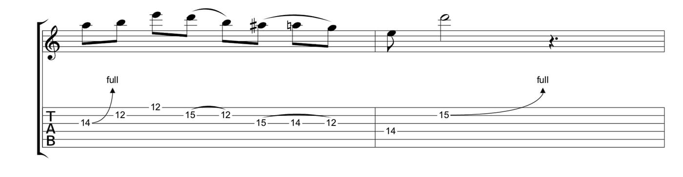 Play Blues Like Jimmy Page Lick 2