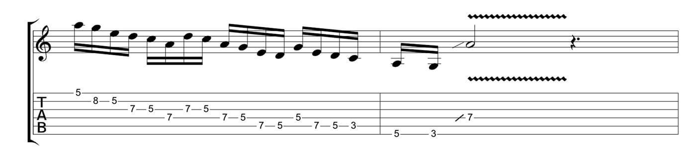 Play Blues Like Jimmy Page Lick 3