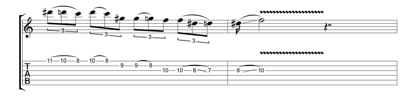 Play Blues Like Jimmy Page Lick 4