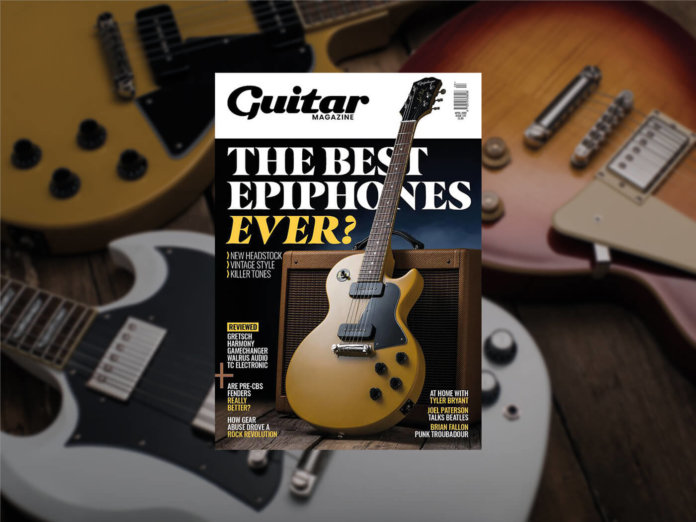 guitar magazine april issue