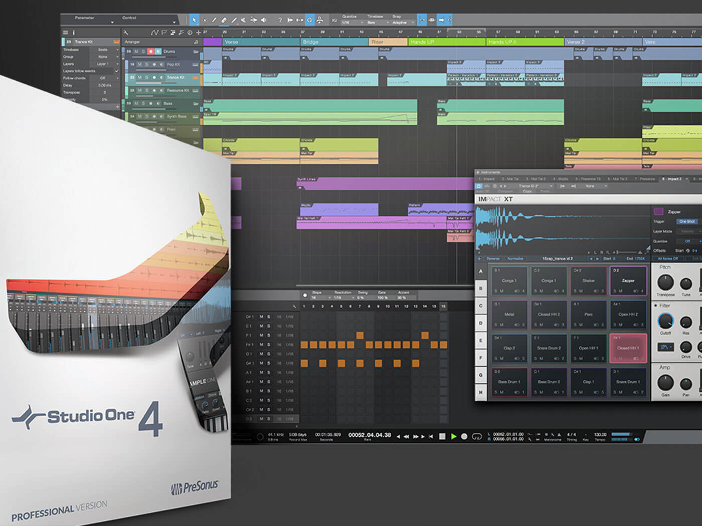 Pre Sonus' Studio One