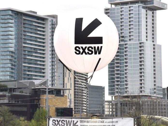 sxsw 2019 balloon logo