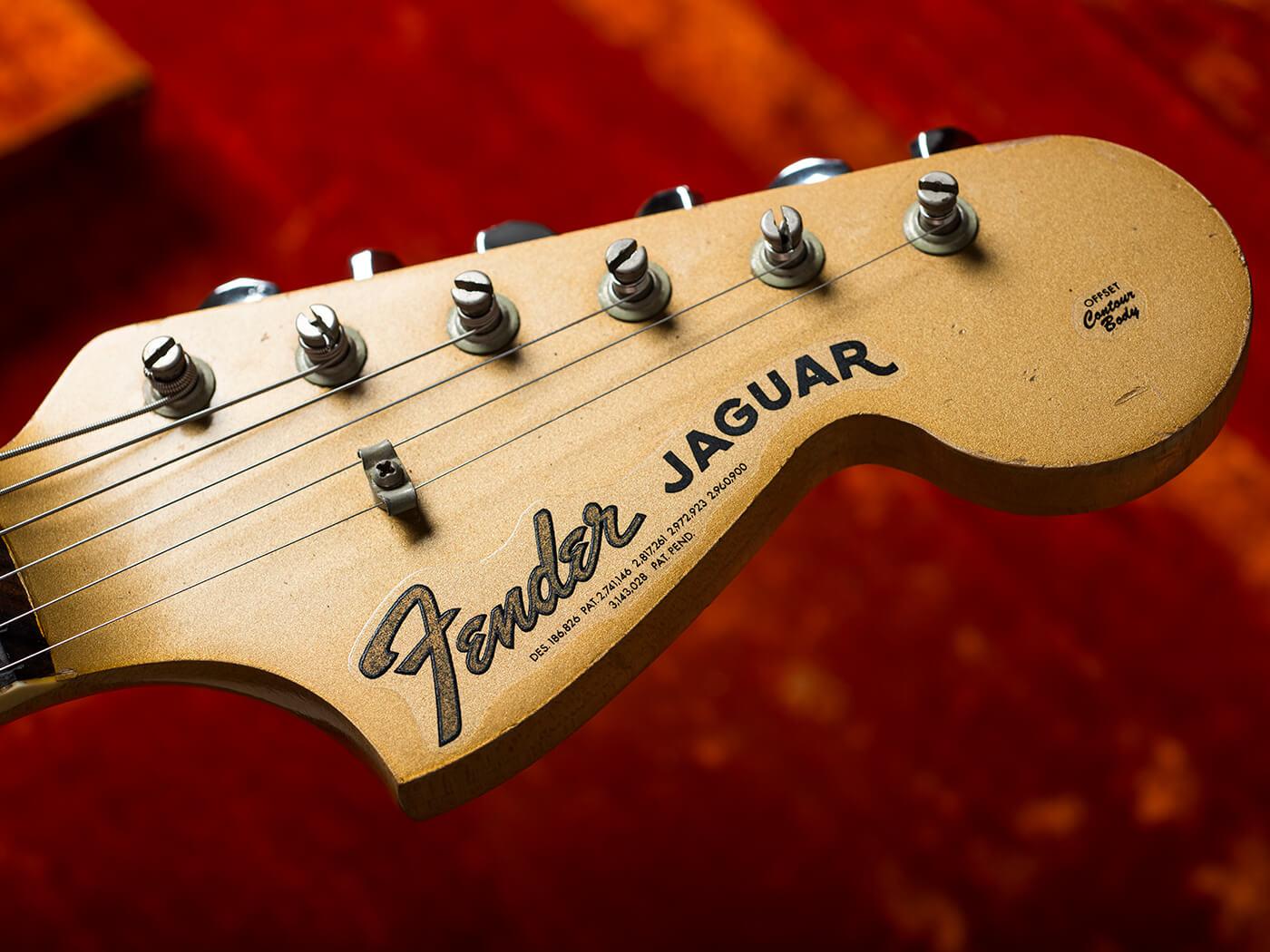 1966 Fender Jaguar Headstock