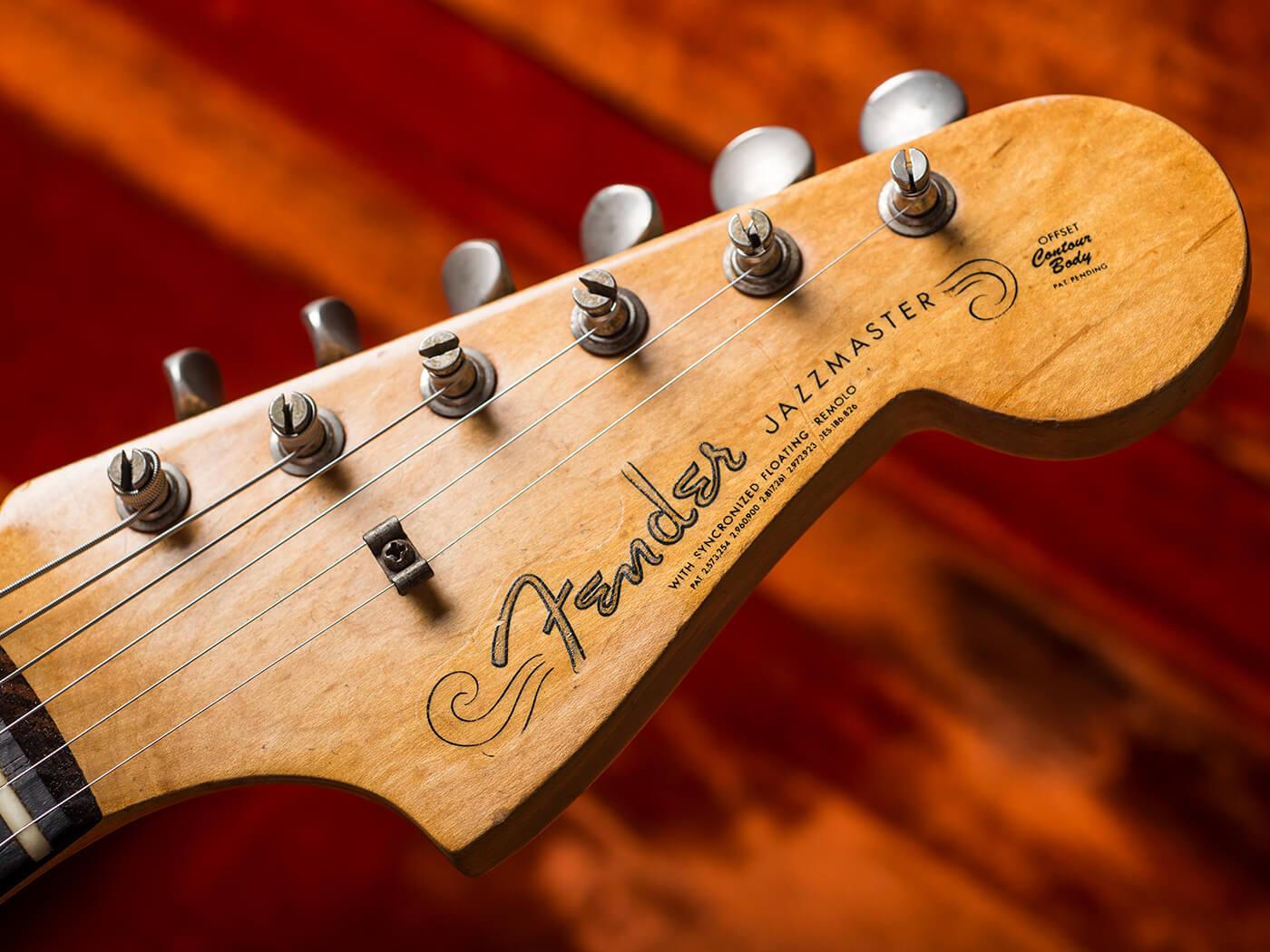 1961 Fender Jazzmaster Headstock