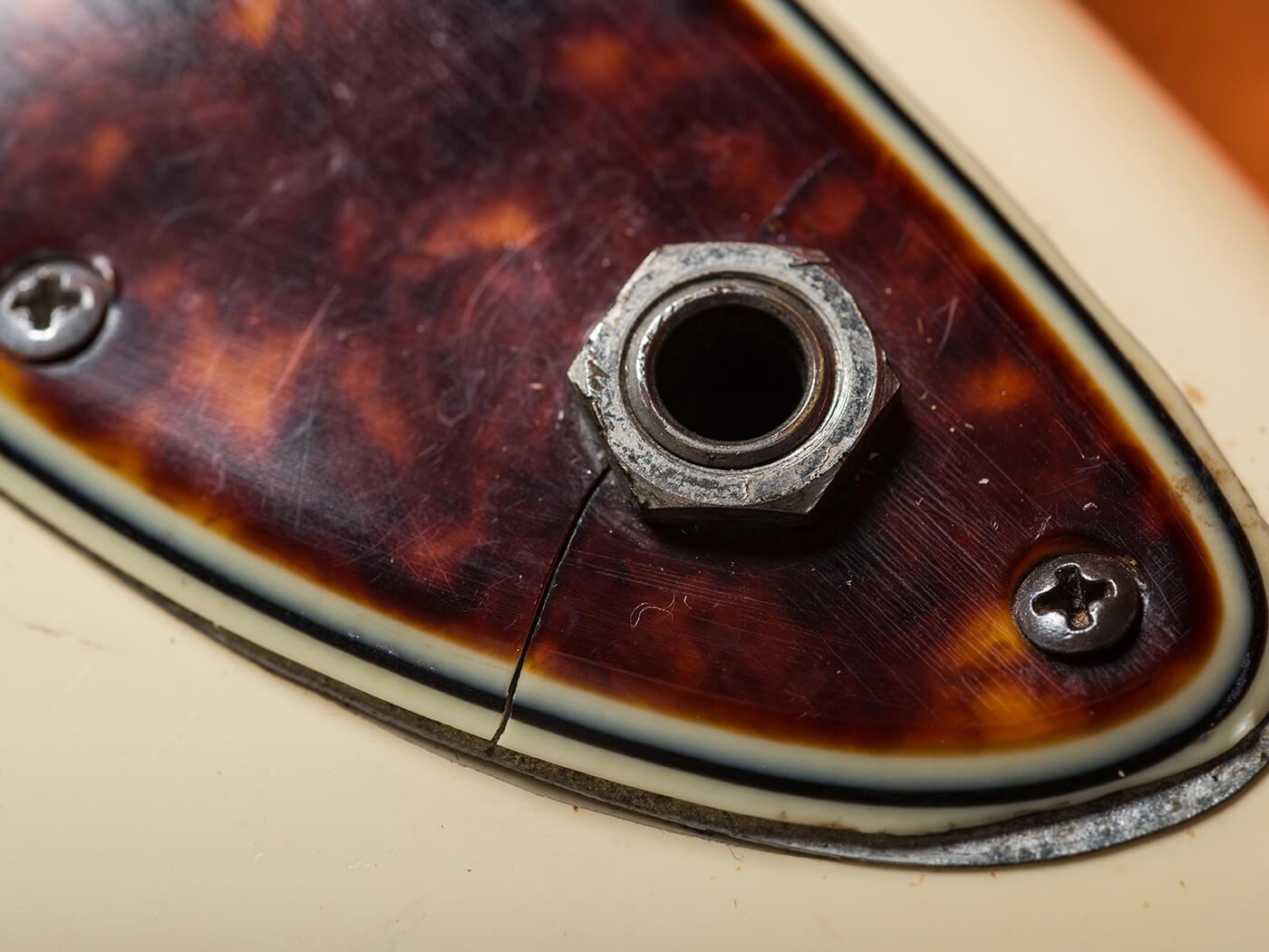 1961 Fender Jazzmaster Input Jack
