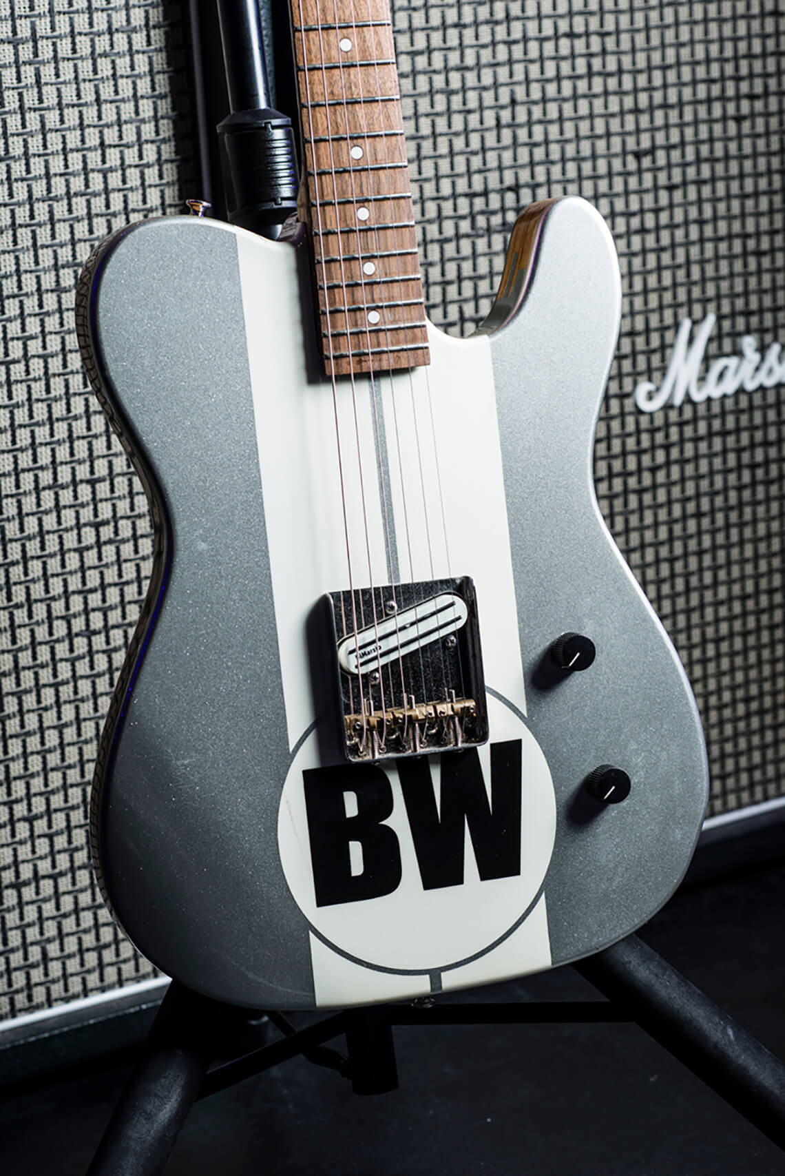 Brad Whitford Green guitar Project