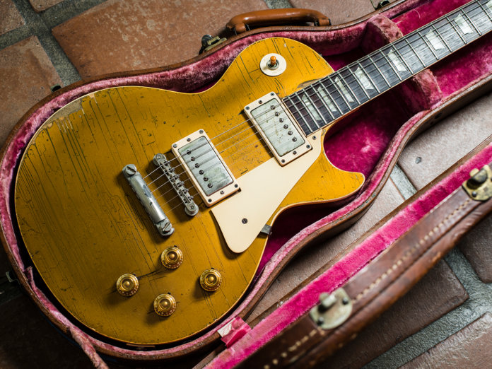 Brian Ray's 1957 Les Paul Goldtop