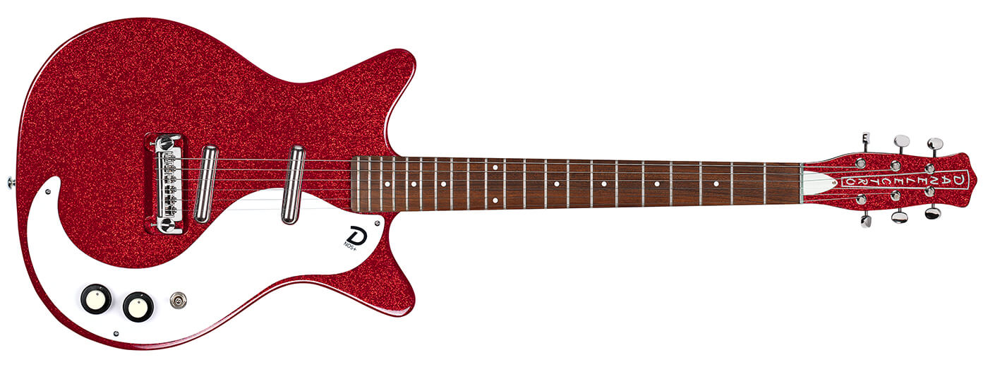 Danelectro 60th anniversary '59M NOS+ Red MF