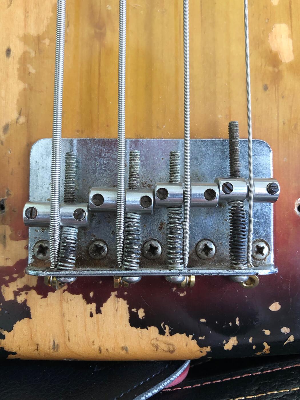 GM 381 Tech Talk Precision Bass Brdige