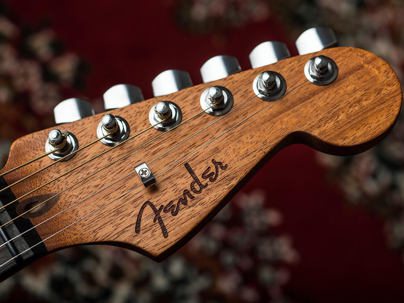Fender American Acoustasonic Stratocaster Headstock