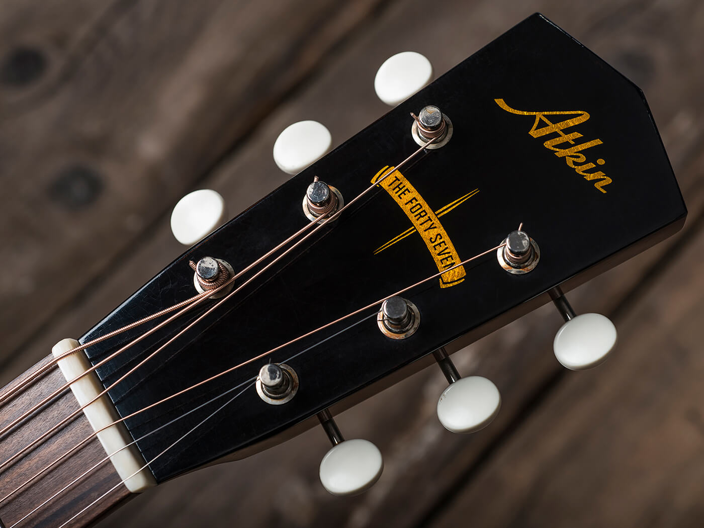 Atkin Guitars The Forty Seven (Headstock)