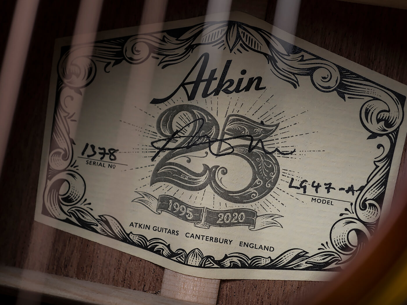 Atkin Guitars The Forty Seven (Seal)