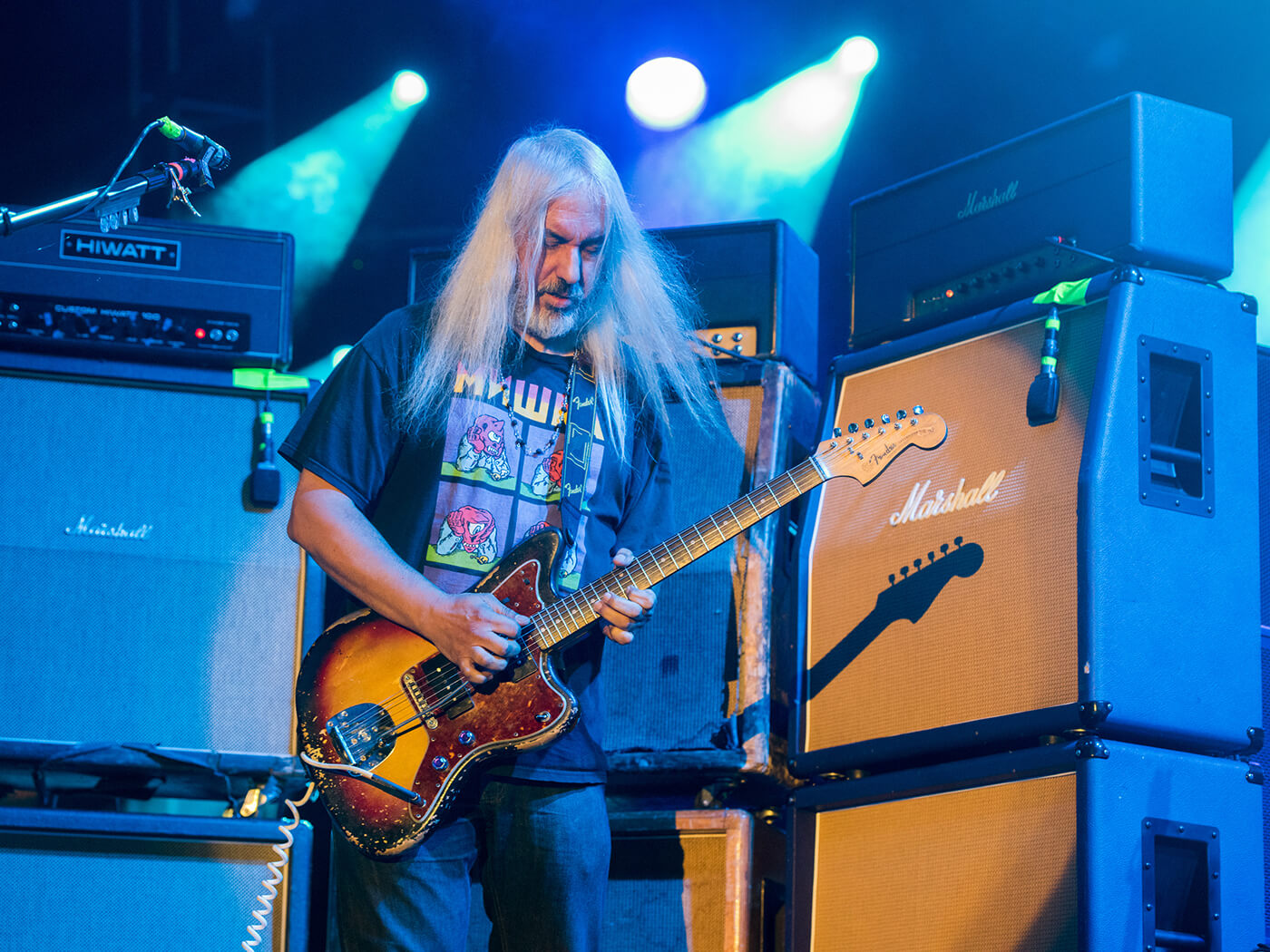J Mascis of Dinosaur Jr.