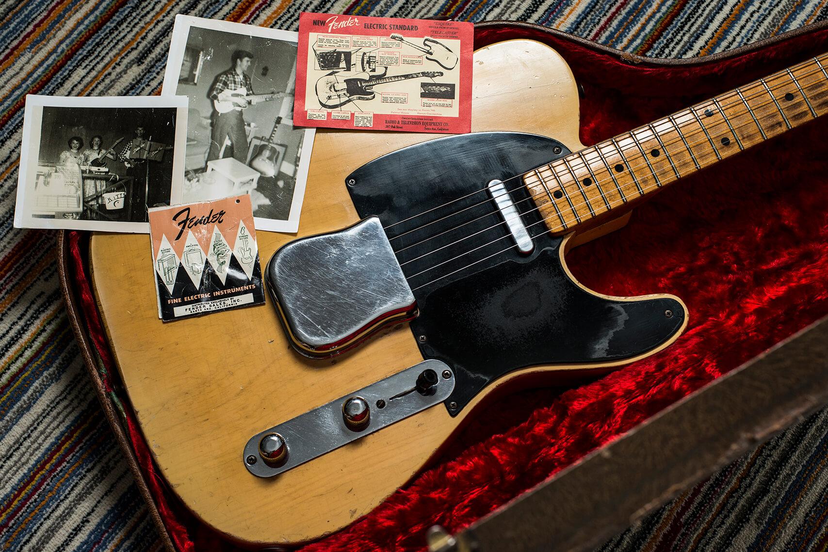 Jeff Garlin's 1953 Fender Telecaster Body (Case)