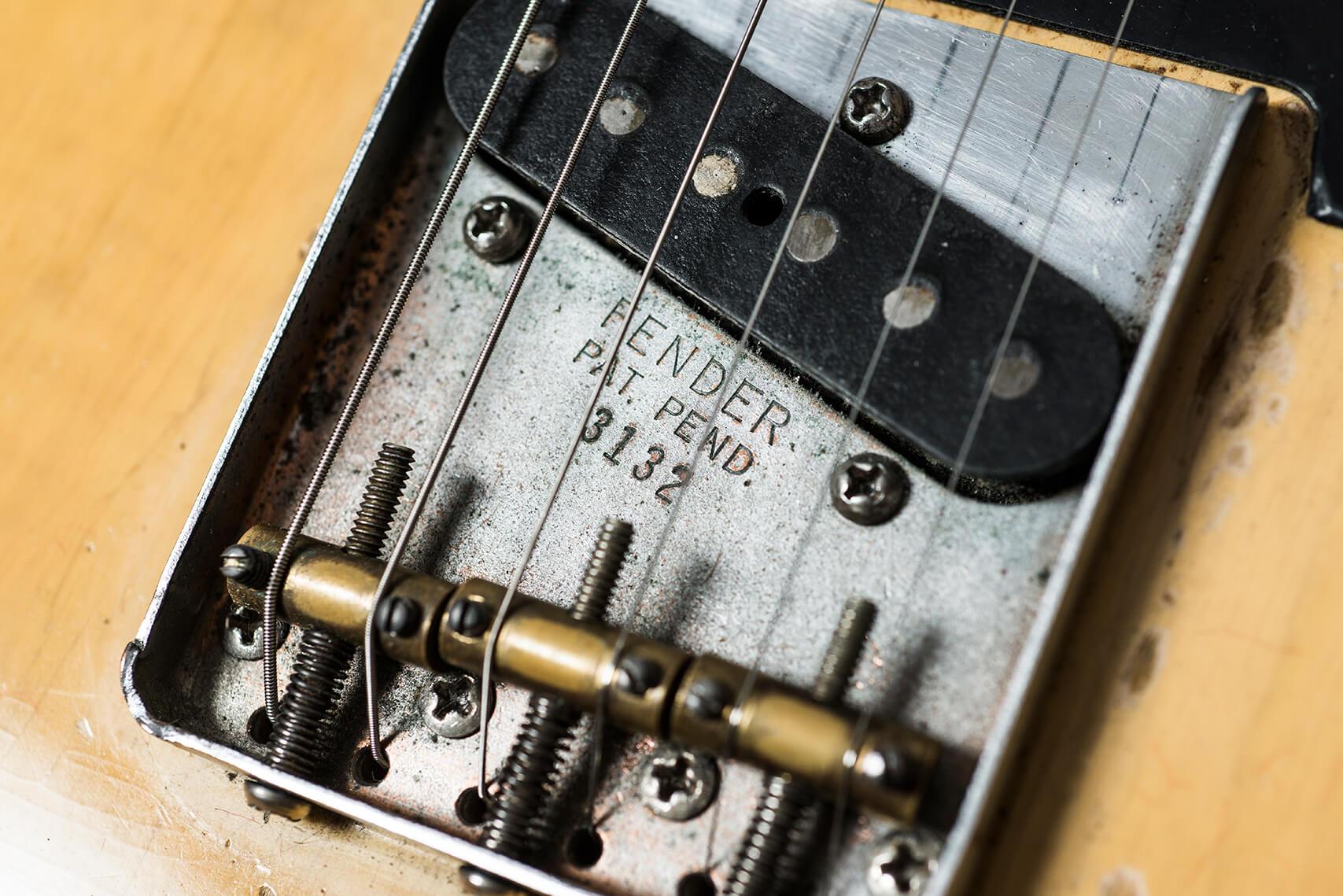 Jeff Garlin's 1953 Fender Telecaster Bridge